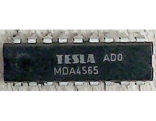 MDA4565 - obvod pro zlepšení barevných přechodů DIL18