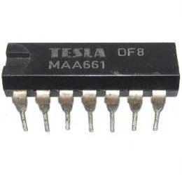 MAA661 - mf zesilovač DIL14