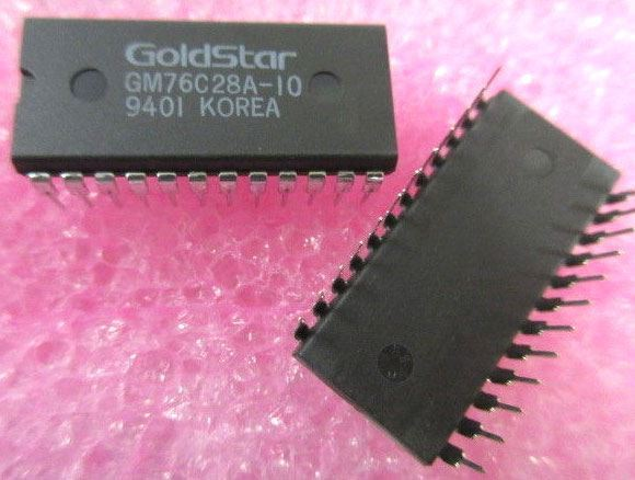GM76C28A-10 CMOS SRAM 2k x 8, DIL24