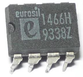 1466H - hodinový obvod, Eurosil, DIP8