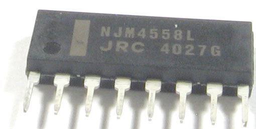NJM4558L - 2xOZ, SIP8