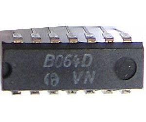 B064D /TL064/  4xOZ J-FET, DIP14