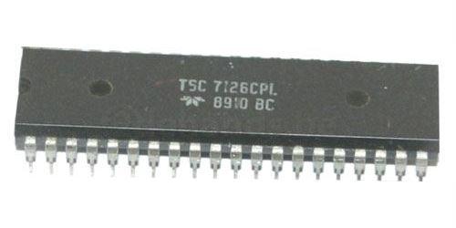 ICL7126CPL 3,5místný A/D převodník pro LCD, DIL40