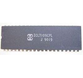 ICL7109CPL 12-bit microprocesor, A/D převodník , DIL40