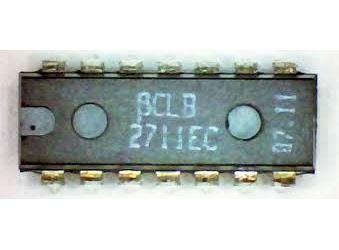 CLB2711 - 2x komparátor, DIP14