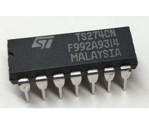 TS274CN 4xOZ CMOS DIP16