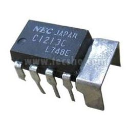 uPC1213C NF zesilovač 2,4W/9V DIP8 (NEC)