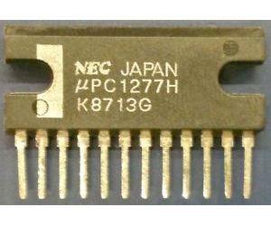 uPC12177H - nf zesilovač 2x4,2W, SIP12