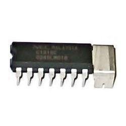 uPC1316C - NF zesilovač 2x1,2W/9V DIP14