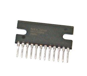 uPC1277H - nf zesilovač 2x4,2W, SIP12