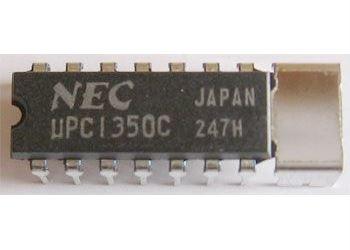 uPC1350C NF zesilovač+ALC pro magnetofony /NEC/