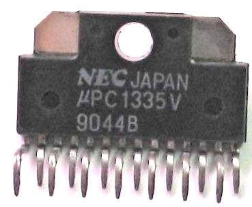 uPC1335V - nf zesilovač 2x7W, ZIP15