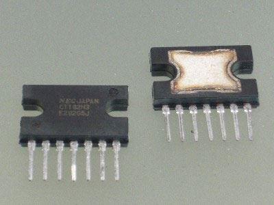 uPC1182H, NF zesilovač 5,8W, SIP-7