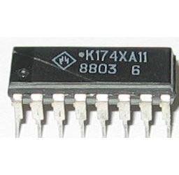 K174XA11  - DIL16 /A255D, TDA2593/