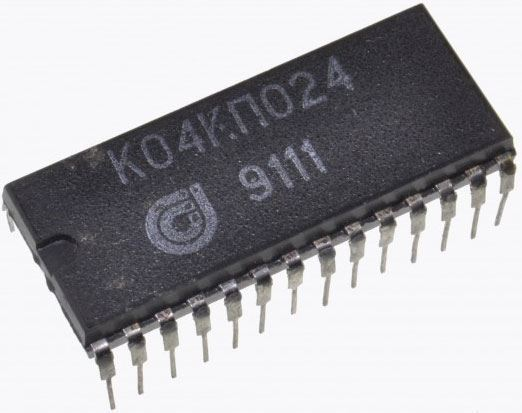 K04KP024 - 8-ch přepínač pro předvolby, DIL28