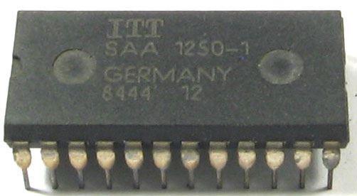 SAA1250 - IR-RC vysílač, 64 kódů, ITT