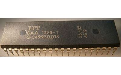 SAA1298-1, remote control+tuning, DIP40