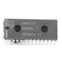 SAA5235, TV teletext, DIP28
