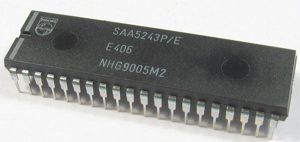 SAA5243P/E, DIP40