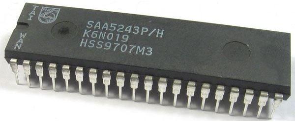 SAA5243P/H, DIP40