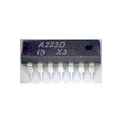 A223D - mf zesilovač+demodulátor, DIL14