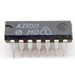 A220D - mf zesilovač a demodulátor /TBA120/