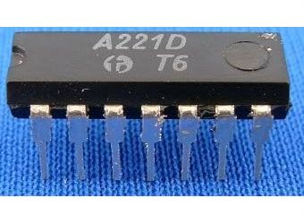 A221D - FM omezovač a demodulátor, DIL14