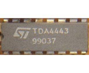TDA4443 - videozesilovač TV, DIL16