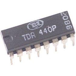 TDA440 - videozesilovač, DIL16