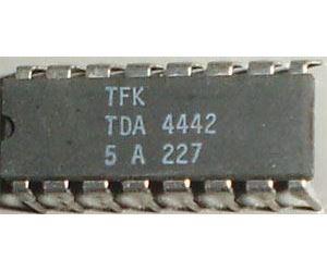 TDA4442 - videozesilovač, DIL16