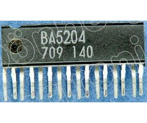 BA5204 nf zesilovač 2x35mW, SQP16