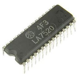 LA7520 - LIN-IC pro TV, SDIP30