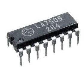 LA7505 - LIN-IC pro TV, DIP16