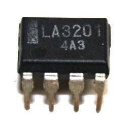 LA3201 - nf předzesilovač, DIL8