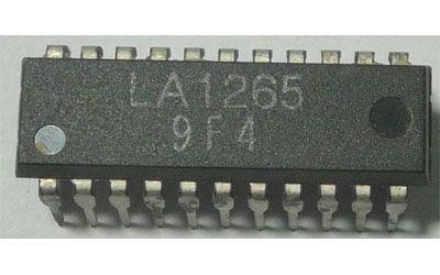 LA1265 - obvod pro AM/FM přijímače DIP22S