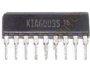 KIA6003S - FM zesilovač a detektor SIP9