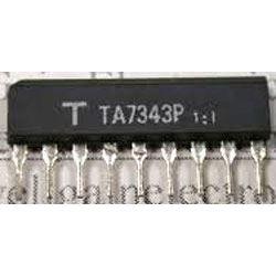 TA7343P - FM PLL stereodekodér, SIP9 /KIA7343AP/