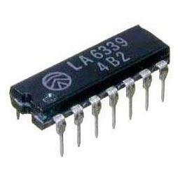 LA6339 - 4x komparátor, DIP14 /uPC324/