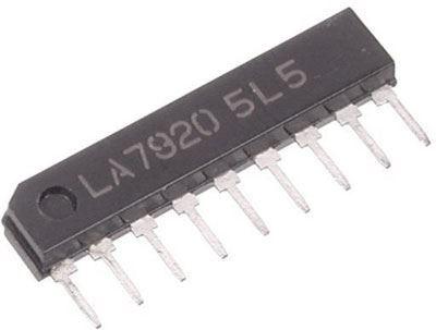 LA7920 - přepínač rozsahů pro TV tuner, SIP9