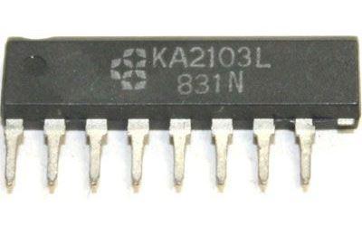 KA2103L - obvod pro TV, SIP8