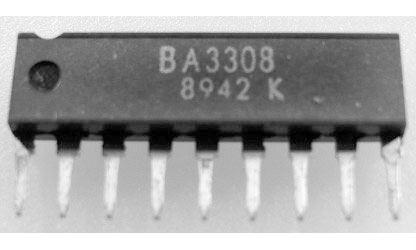BA3308 - nf předzesilovač+ALC, stereo, SIP10