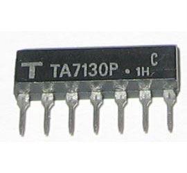 TA7130P - MF zesilovač+detektor, SIL-7