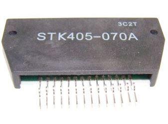 STK405-070A - nf zesilovač 2x40W (Ucc=+-39Vmax)