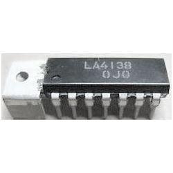 LA4138 - nf zesilovač 2,7W,Ucc=9V,DIP14+g