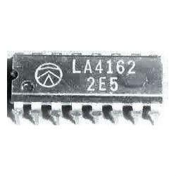 LA4162 - nf zesilovač 0,5W,Ucc=9V,DIP16