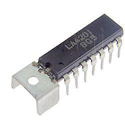 LA4201 - nf zesilovač 2,5W,Ucc=8-20V,DIP14+g