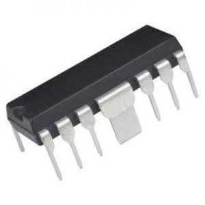 LA4190 - nf zesilovač 2x1W,Ucc=3,6-9V,PDIP-12