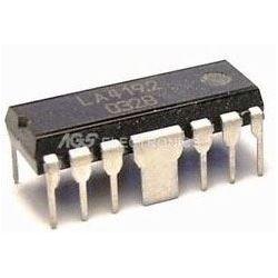 LA4192 - nf zesilovač 2x2,3W,Ucc=3-10V, PDIP-12