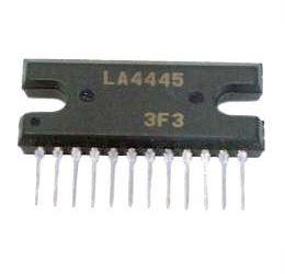 LA4445 - nf zesilovač 2x5,5W,Ucc=12V, SIP14H