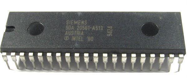 SDA20561-A513, 8bit CPU, DIP40